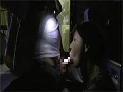 懐中電灯でセックス