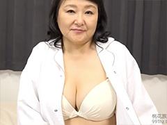 巨乳おばちゃんのブラジャー